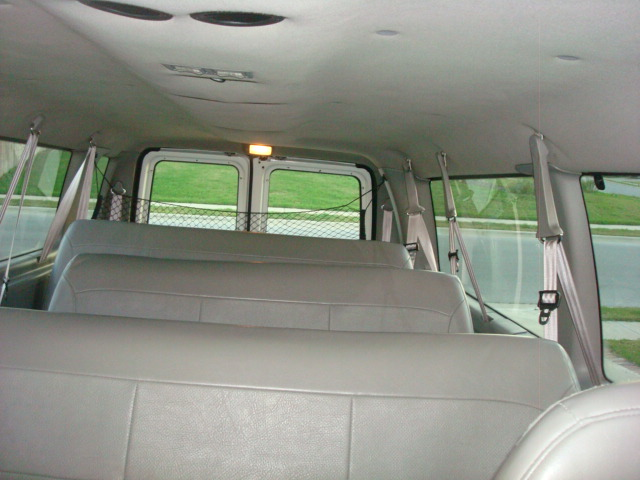 Ford econoline passenger van interior Ford econoline cargo van interior dimensions