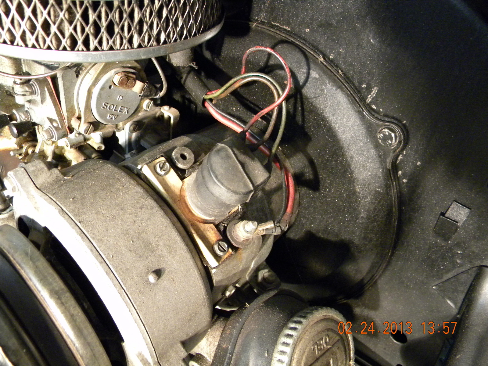 I have a 1974 beetle with a alternator/with external regulator. I am  replacing the engine that has a generator installed. How do I use the  existing wiring ...