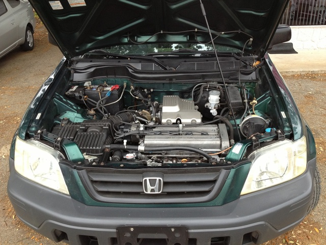 Picture of 2000 Honda CR-V LX AWD, exterior, engine