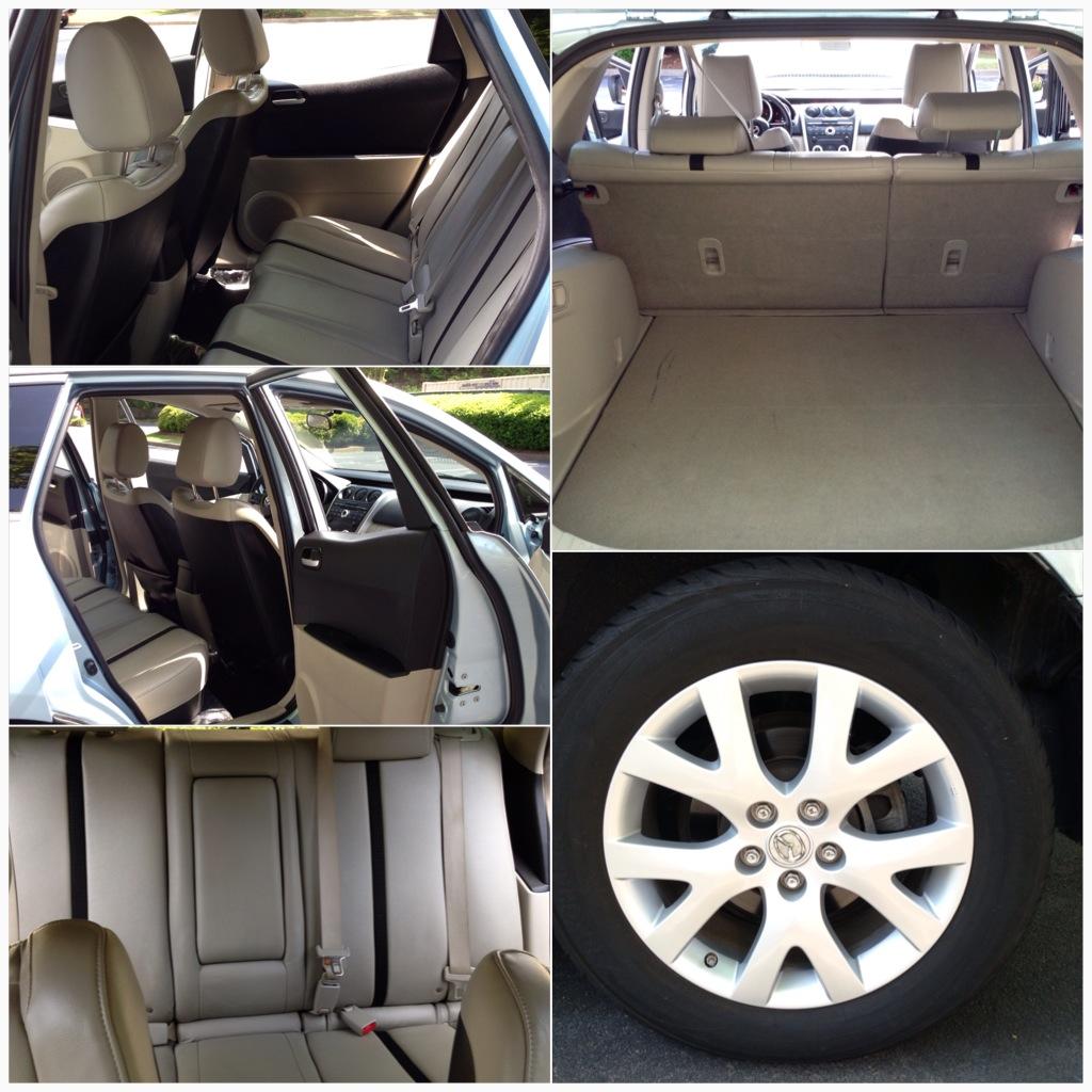 2009 Mazda Tribute Interior: 2007 Mazda CX-7