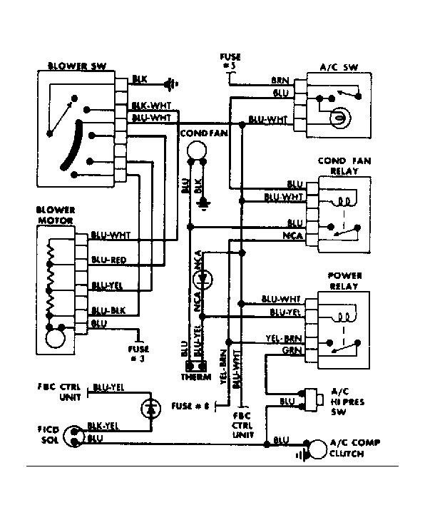 1986 dodge truck wiring diagram