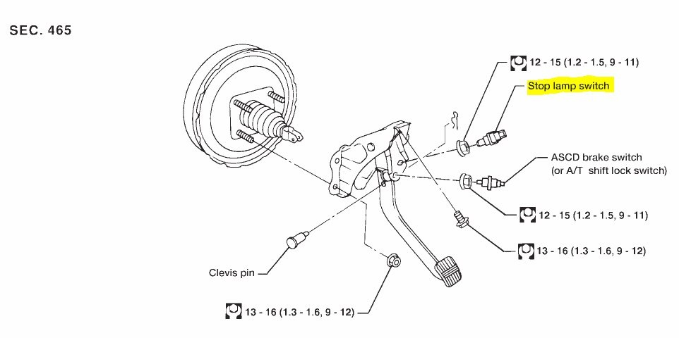 2003 Nissan Altima Brake Diagram