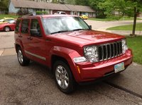 2008 Jeep Liberty Limited 4WD, Red 1, exterior