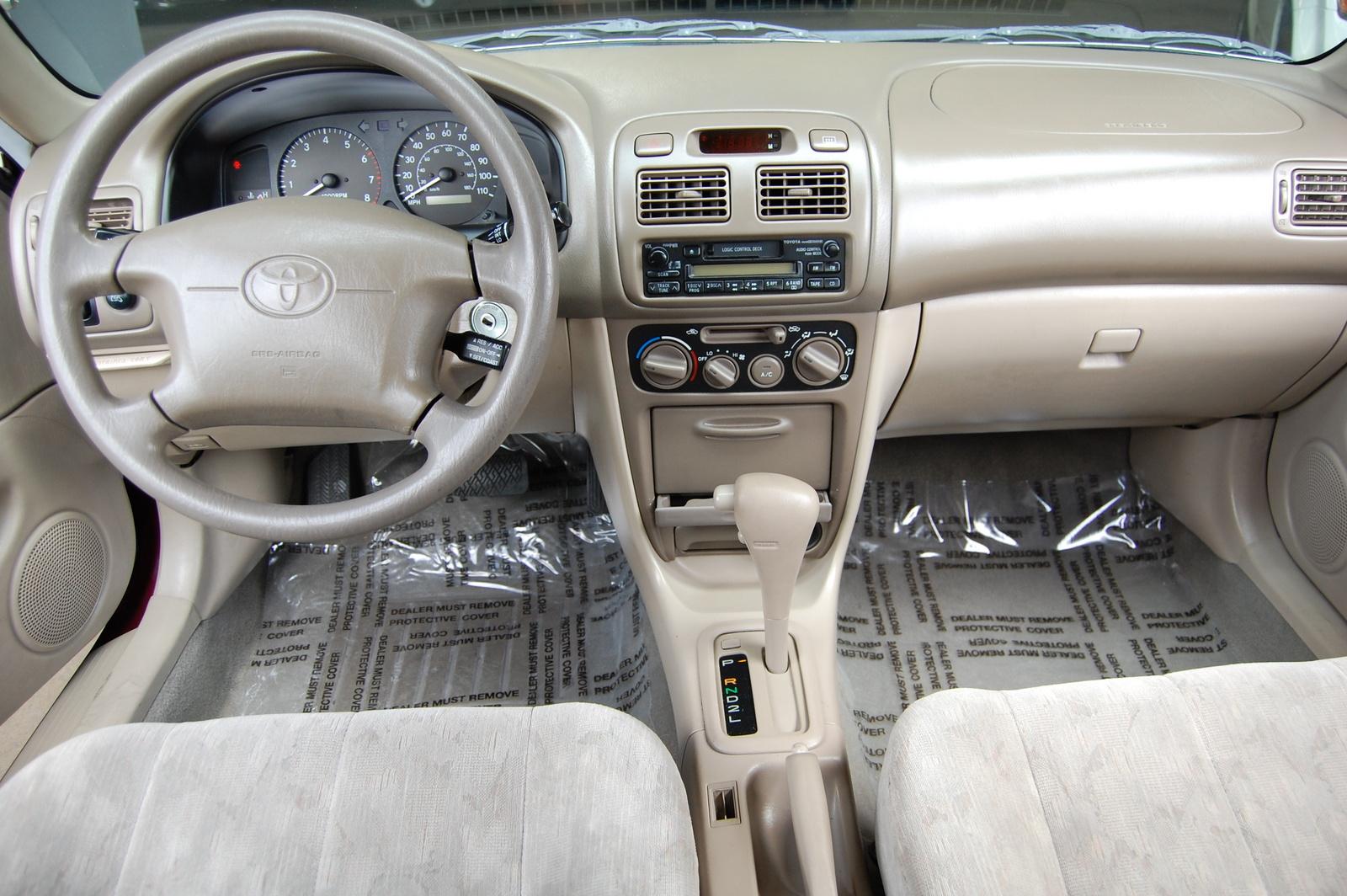 1998 Toyota Corolla Interior Pictures Cargurus