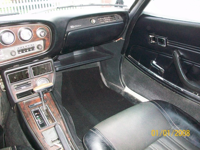Picture of 1973 Toyota Celica ST coupe, interior