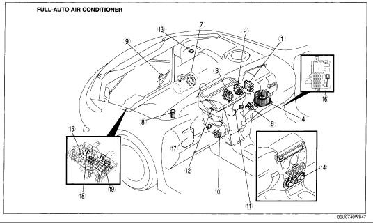 Mazda Mazda6 Questions Can A Bad C Pressor Cause Jerkiness In Rh Cargurus 6 Wiring Diagram Pdf 2005: Mazda Air Conditioning Wiring Diagram At Kopipes.co