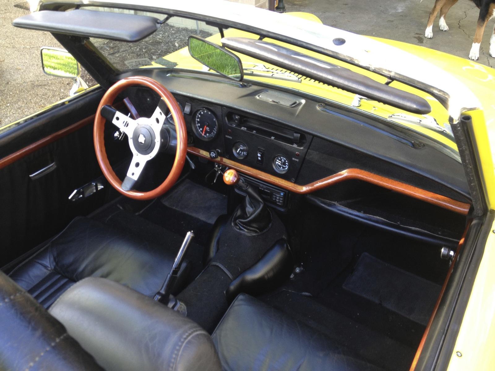 1971 Triumph Spitfire Interior Pictures Cargurus