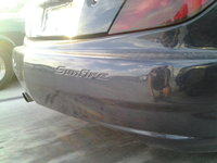 2005 Pontiac Sunfire Base, Rear Right Bumper View, exterior