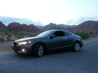 2009 Honda Accord Coupe EX-L V6 w/ Nav, Out by Red Rock Canyon near Las Vegas, NV...taken at dusk..., exterior, gallery_worthy