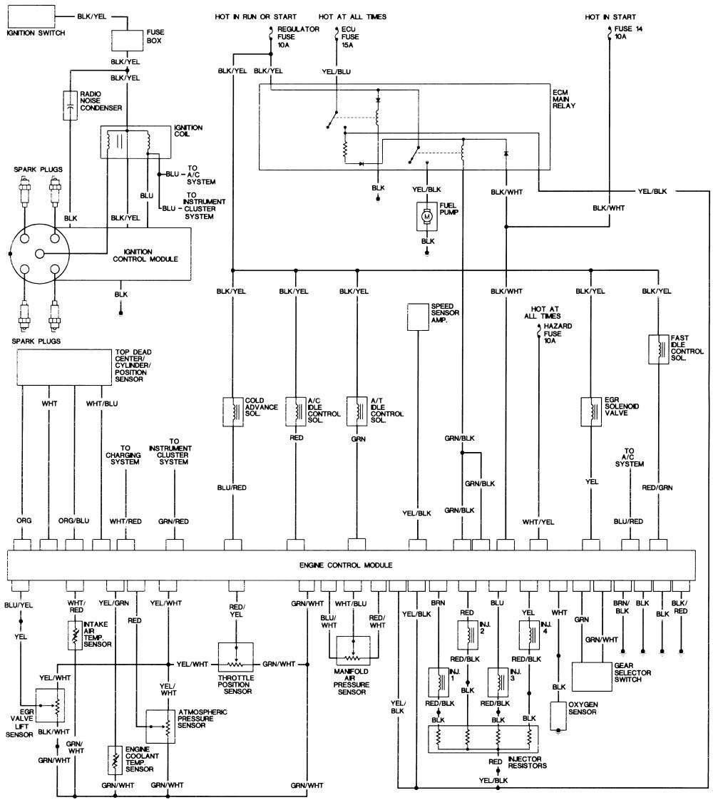 Wiring Diagrams Along With 1997 Honda Passport Wiring Diagram And