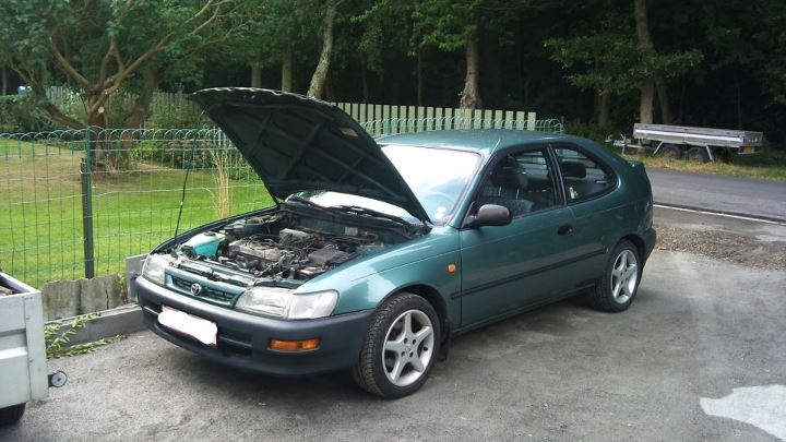 1996 Toyota Corolla Base picture, engine