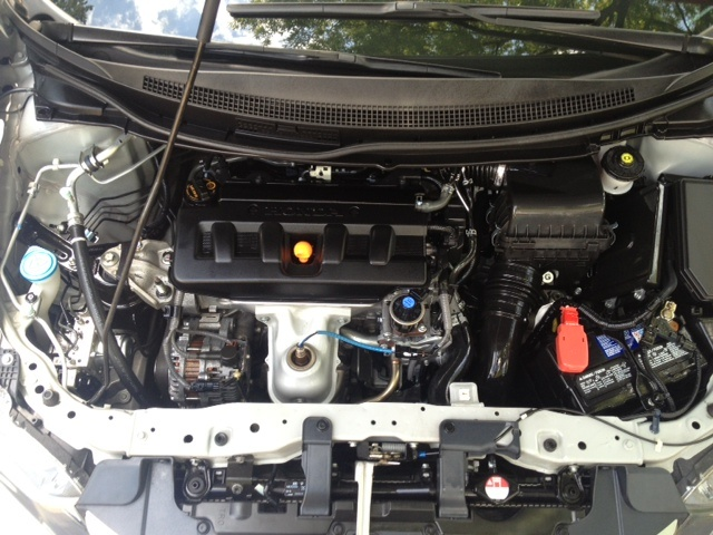 Picture of 2012 Honda Civic EX, engine
