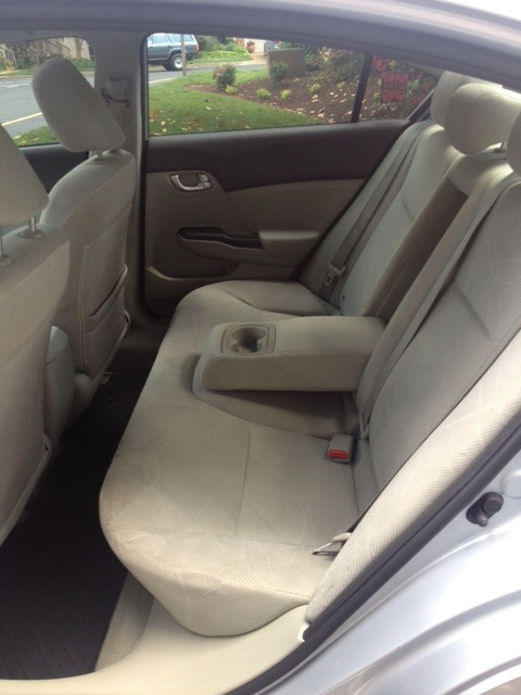 Picture of 2012 Honda Civic EX, interior
