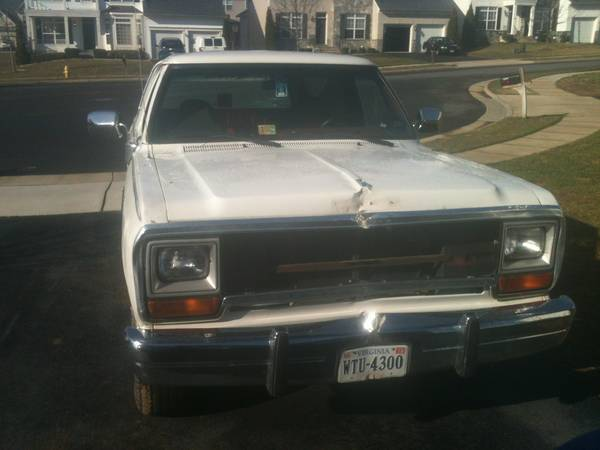 1988 Dodge Ramcharger picture, exterior