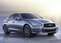 2014 Infiniti Q50, Front-quarter view, lead_in, manufacturer, exterior