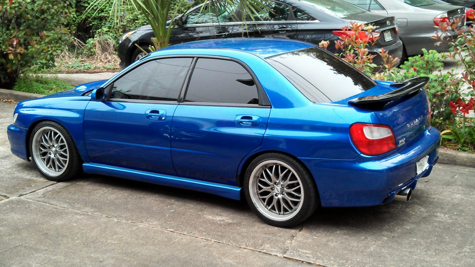 picture of 2002 subaru impreza wrx base exterior. Black Bedroom Furniture Sets. Home Design Ideas