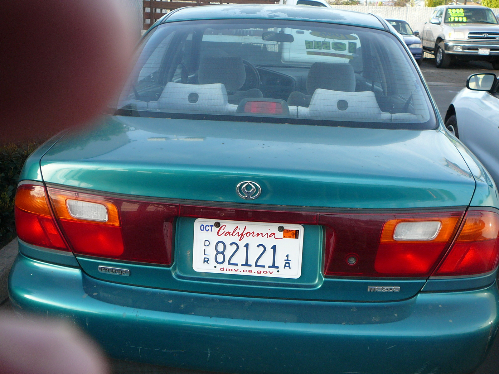 Picture of 1996 Mazda Protege 4 Dr LX Sedan
