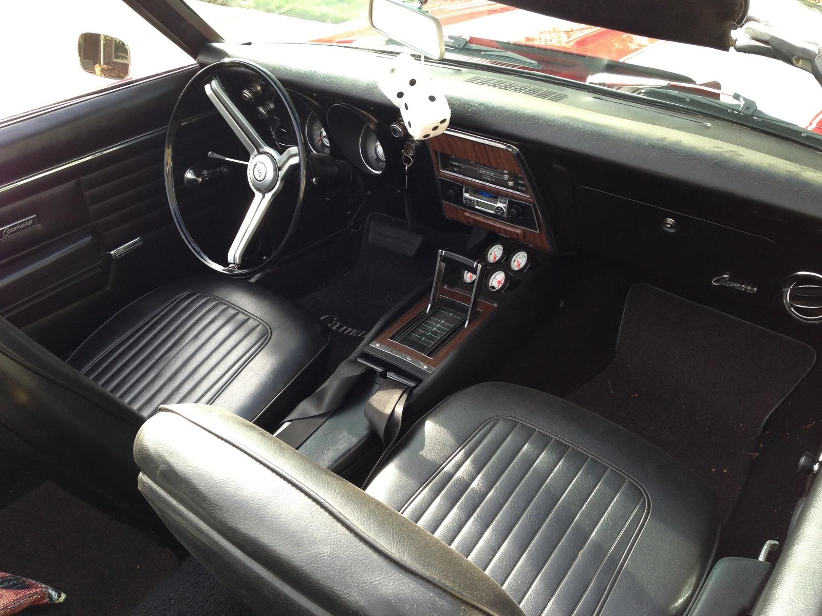 1968 camaro ss interior