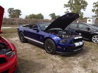 Picture of 2013 Ford Shelby GT500 Convertible, engine, exterior