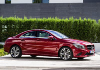 2014 Mercedes-Benz CLA-Class, Front-quarter view, manufacturer, exterior