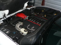 1997 Chevrolet Corvette Coupe, Picture of 1997 Chevrolet Corvette Base, engine