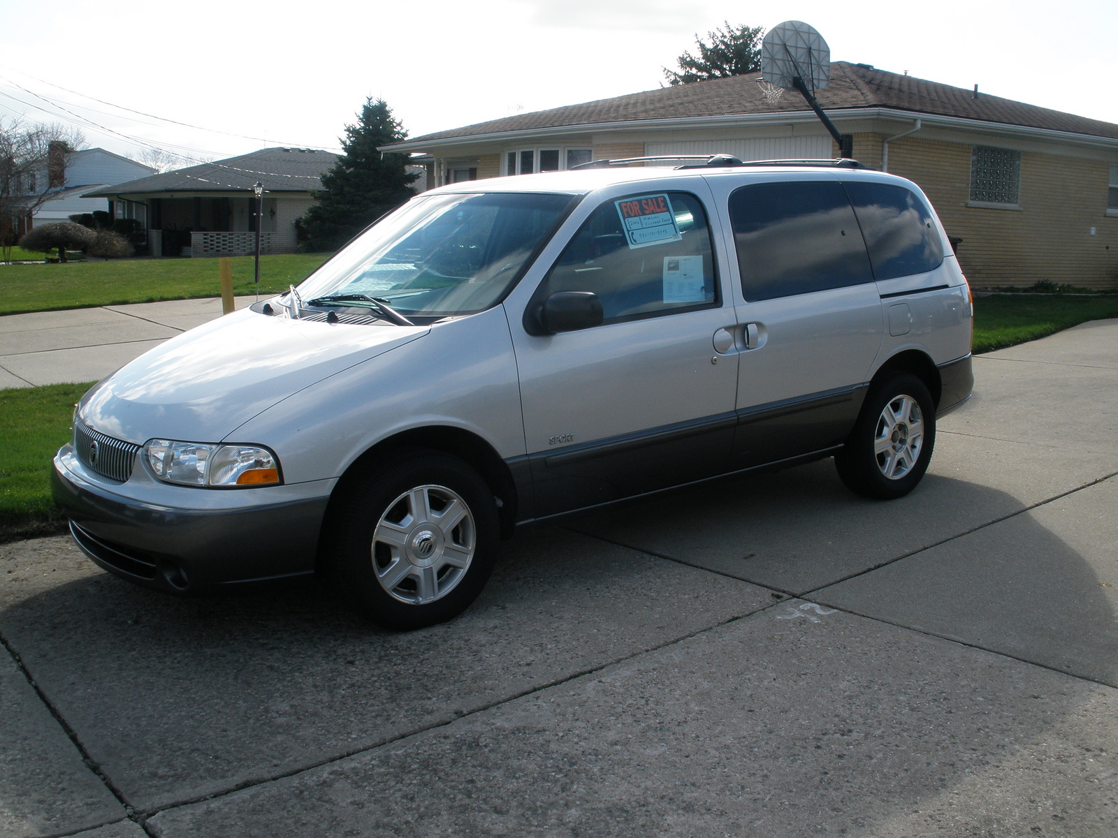 Picture of 2002 Mercury Villager 4 Dr Sport Passenger Van
