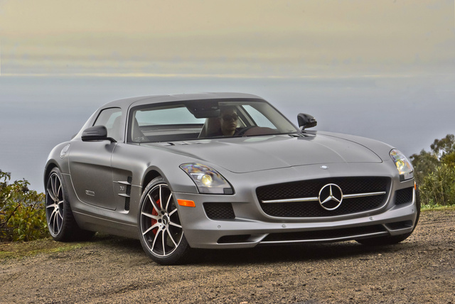 2013 Mercedes-Benz SLS-Class, Front-quarter view, exterior, manufacturer, gallery_worthy