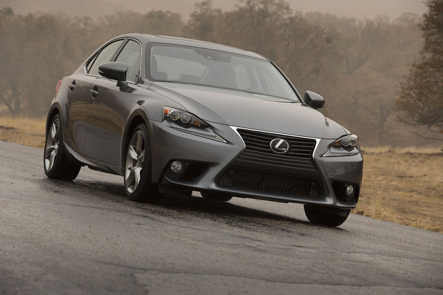 2014 Lexus IS 350, Front-quarter view, exterior, manufacturer