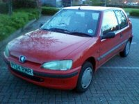 1996 Peugeot 106 Picture Gallery