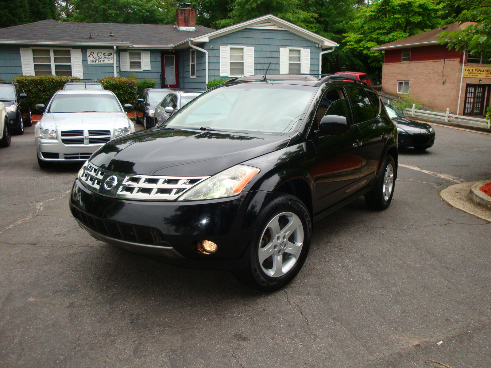 picture of 2005 nissan murano sl exterior. Black Bedroom Furniture Sets. Home Design Ideas