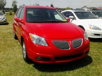 2005 Pontiac Vibe Base AWD picture - At the lot with 'hideous' grey grill panels., exterior