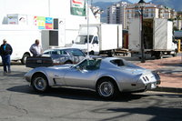 1975 Chevrolet Corvette Coupe, Taken may 1st here in Spain note the pace car spoilers looking good but still needs upgrading ha ha, exterior