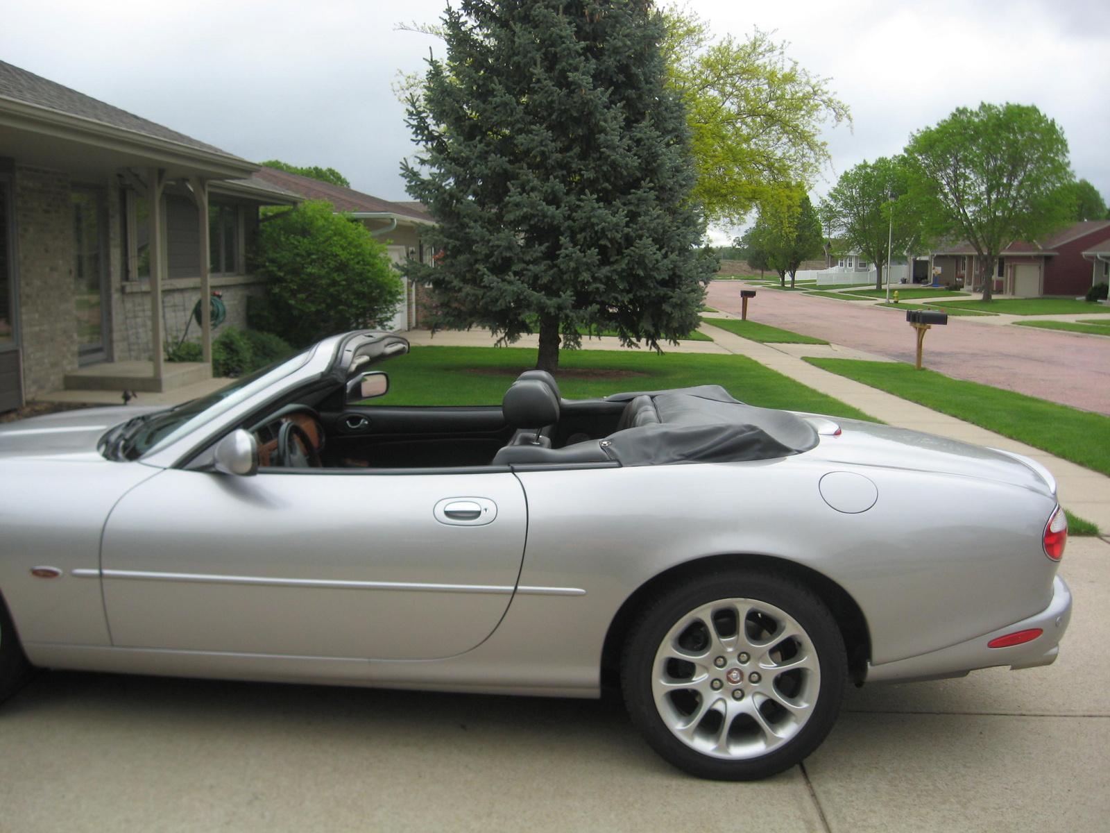 picture of 2002 jaguar xk series xkr convertible exterior