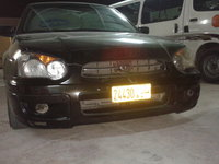 2003 Subaru Impreza, I removed the front fog lights to clean them form the insid, exterior