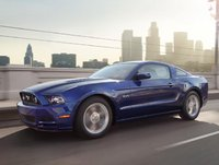 2014 Ford Mustang, Front-quarter view, exterior, manufacturer, lead_in