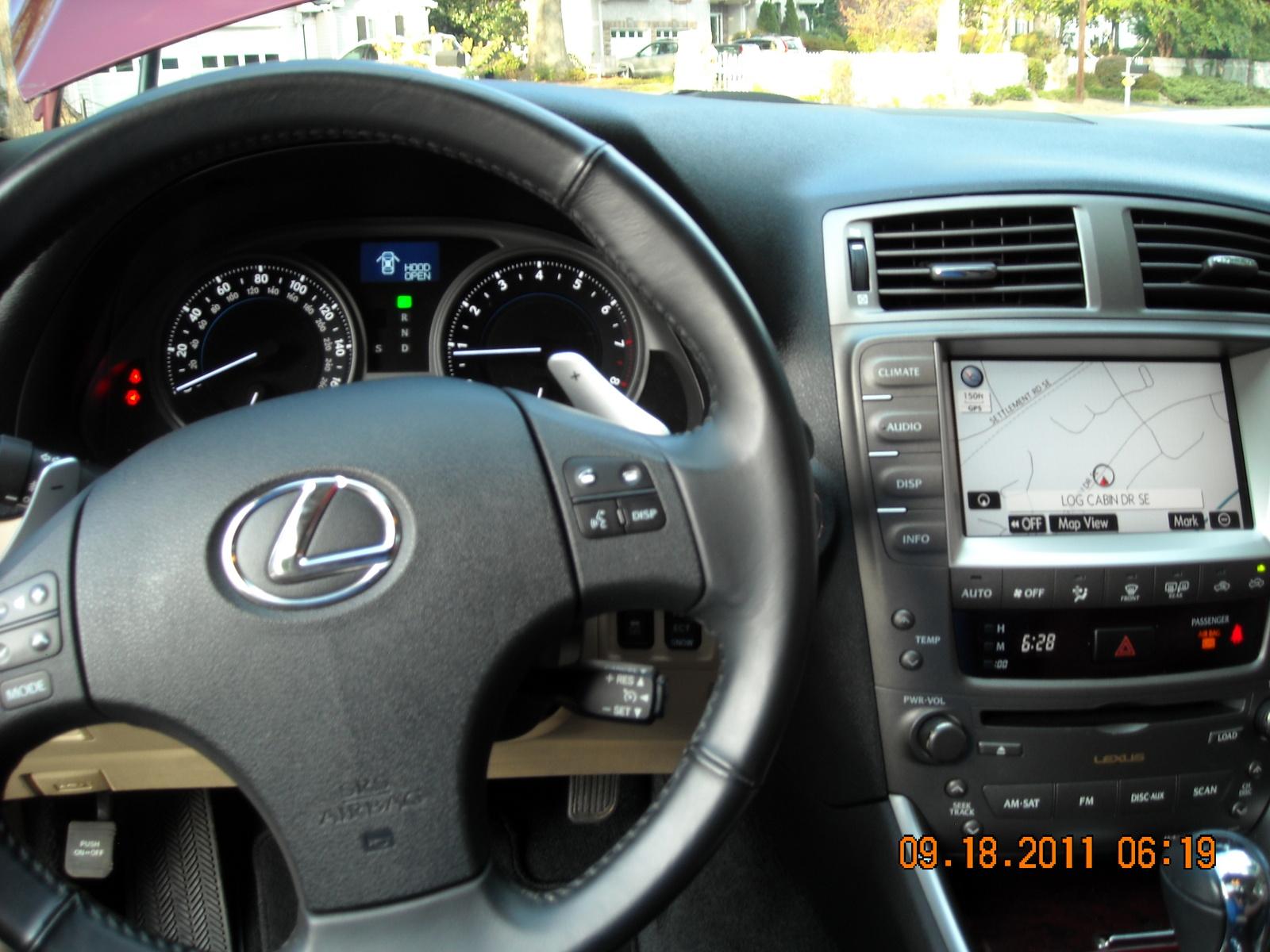 2008 Lexus IS 250 Interior Pictures CarGurus