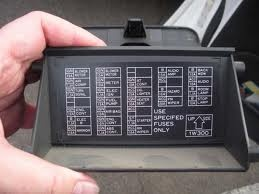 i looked for the fuse box diagram and am not able to help you without  knowing the year  they vary a lot  take the cover off and you should see  something