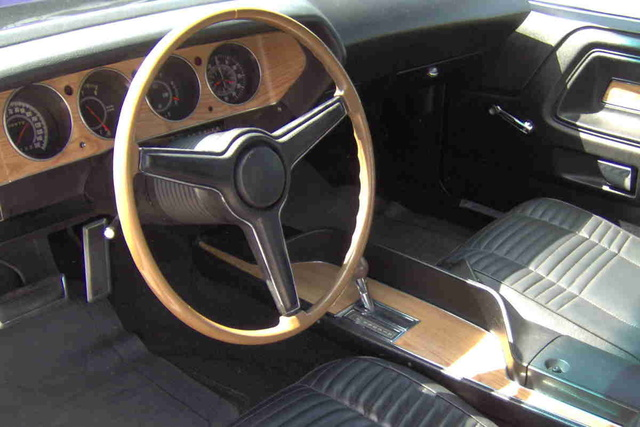 1970 Dodge Challenger - Interior Pictures