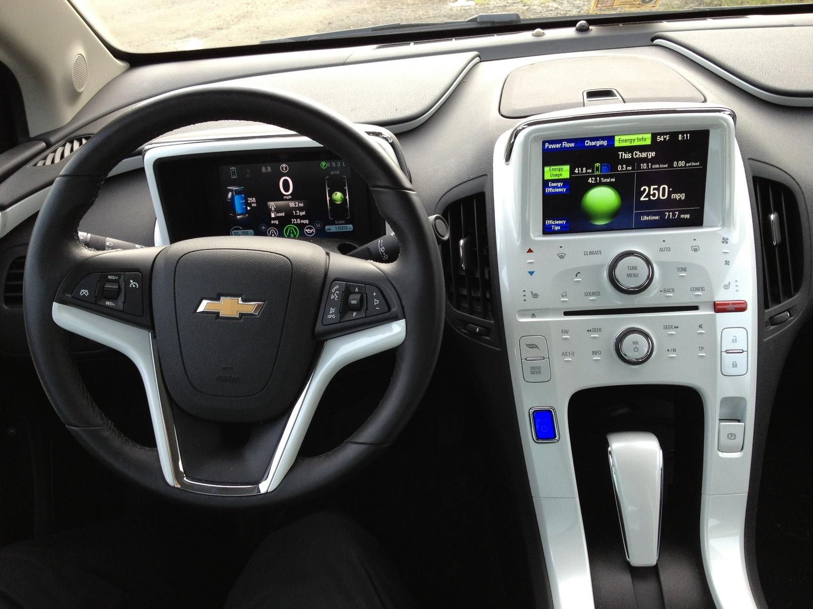 Used 2015 Tahoe >> 2012 Chevrolet Volt - Interior Pictures - CarGurus