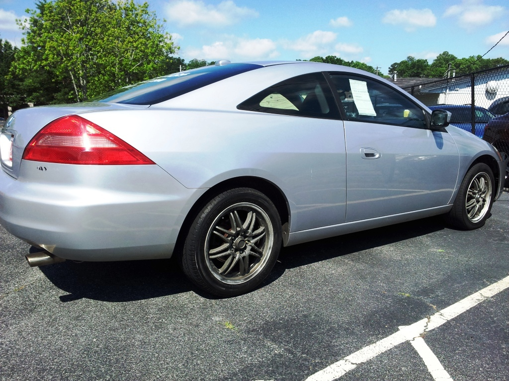 picture of 2004 honda accord ex coupe exterior. Black Bedroom Furniture Sets. Home Design Ideas