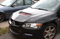 2003 Mitsubishi Lancer Evolution Base, 2003 evolution, exterior