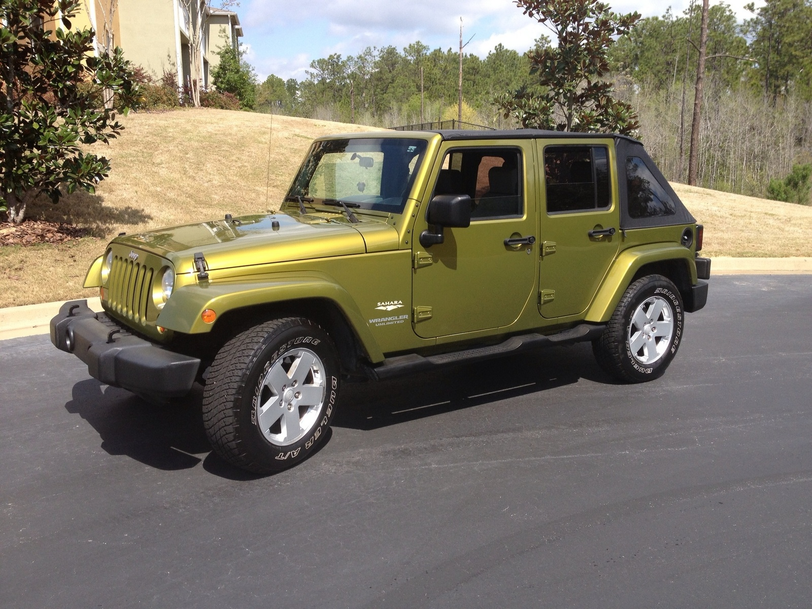 picture of 2007 jeep wrangler unlimited sahara exterior. Cars Review. Best American Auto & Cars Review