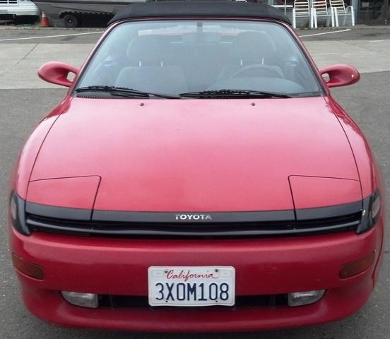 Toyota Convertible: 1991 Toyota Celica