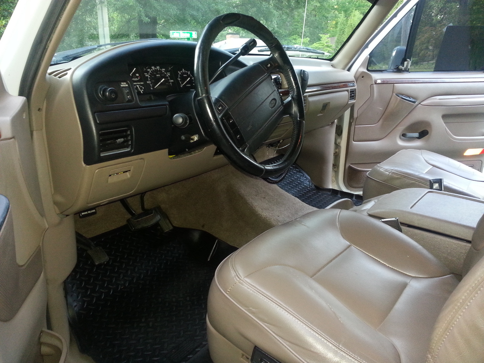 Picture Of 1996 Ford Bronco Eddie Bauer 4wd Interior