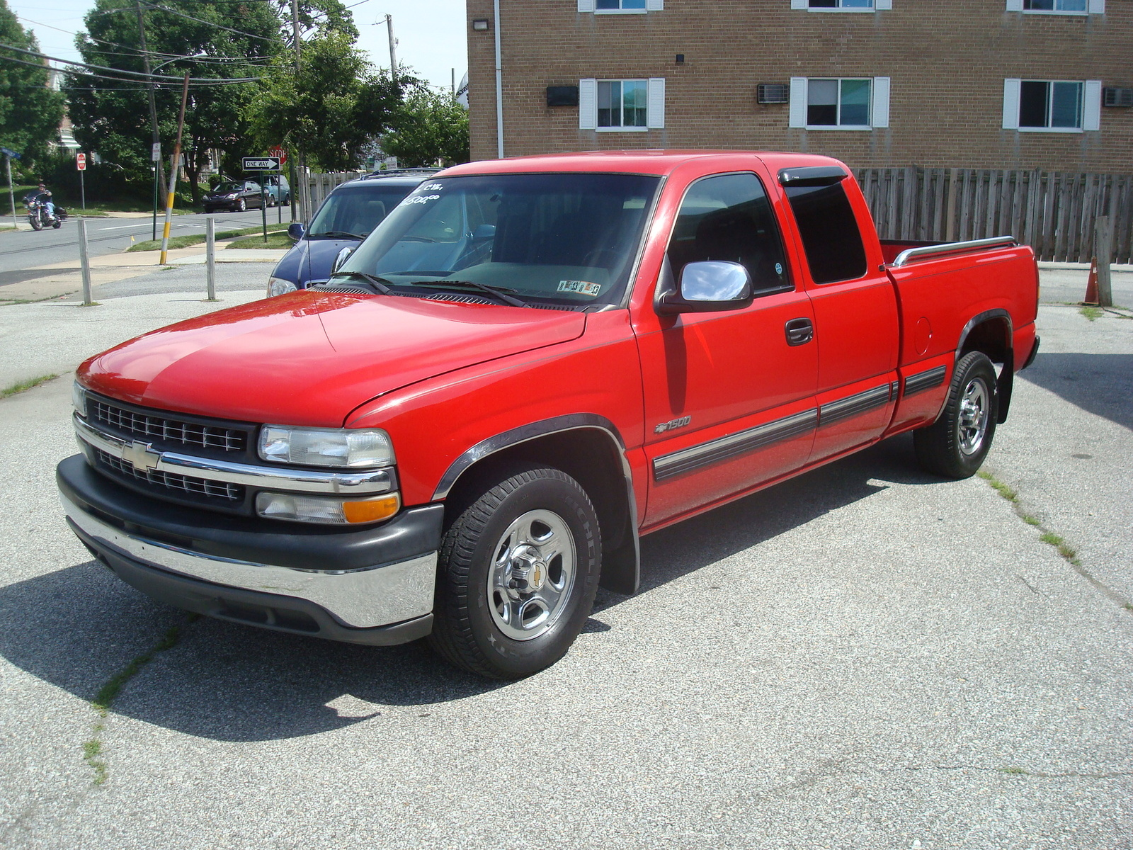 picture of 2001 chevrolet silverado 1500 ls extended cab sb exterior. Cars Review. Best American Auto & Cars Review