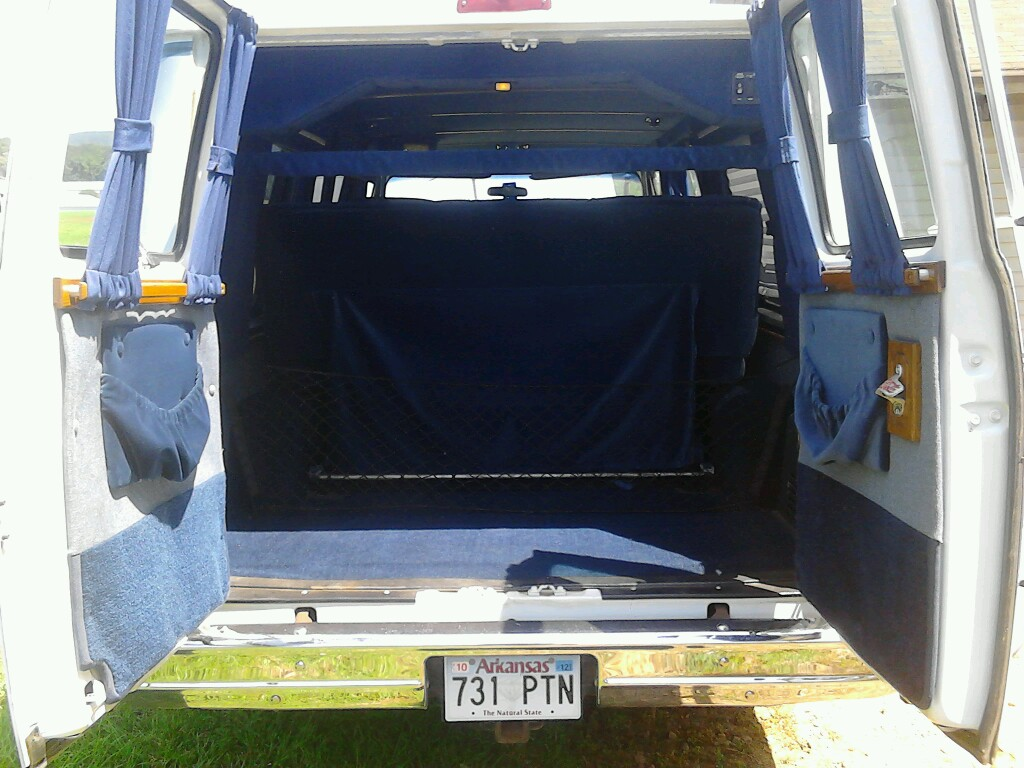 Picture Of 1991 GMC Vandura 3 Dr G25 Cargo Van Interior