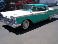 1959 Ford Fairlane, 500 Retractable. Only made by Ford for 2 1/4 years, exterior