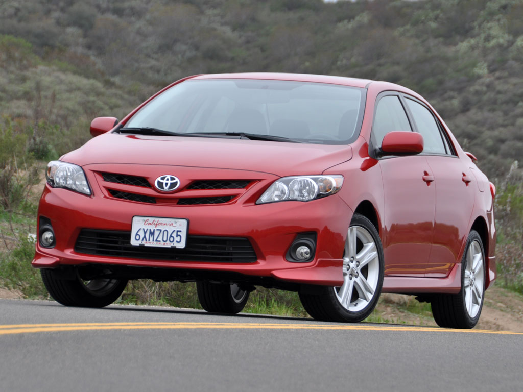 2013 toyota corolla s pic. Black Bedroom Furniture Sets. Home Design Ideas