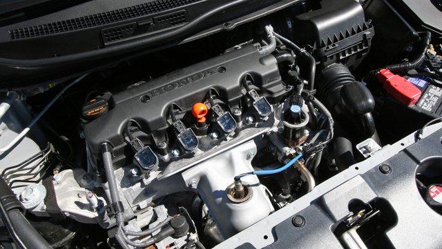 2013 Honda Civic, Under the hood, engine, gallery_worthy