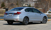 2013 Honda Civic, Rear quarter, exterior, cost_effectiveness